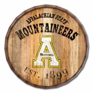 "Appalachian State Mountaineers Established Date 24"" Barrel Top"