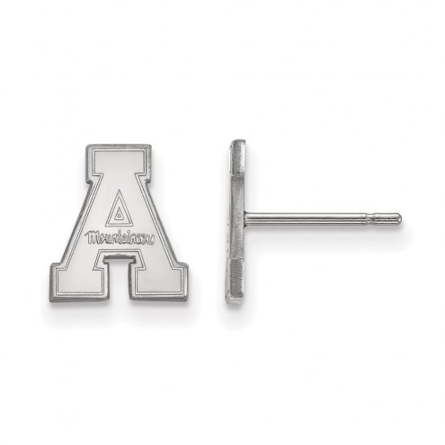 Appalachian State Mountaineers Sterling Silver Extra Small Post Earrings