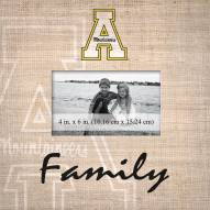 Appalachian State Mountaineers Family Picture Frame