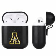 Appalachian State Mountaineers Fan Brander Apple Air Pods Leather Case