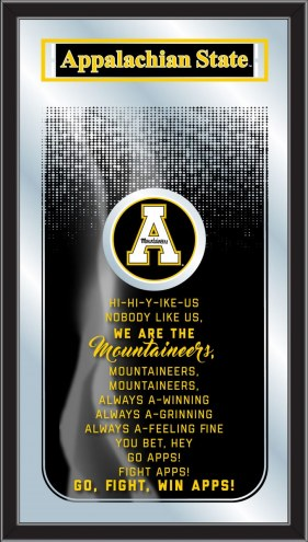 Appalachian State Mountaineers Fight Song Mirror