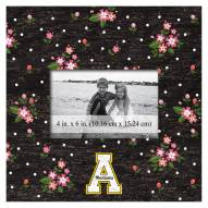 "Appalachian State Mountaineers Floral 10"" x 10"" Picture Frame"