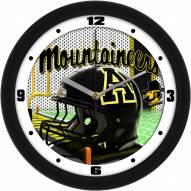 Appalachian State Mountaineers Football Helmet Wall Clock