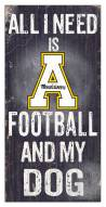 Appalachian State Mountaineers Football & My Dog Sign