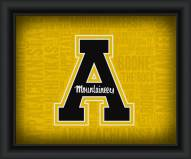 Appalachian State Mountaineers Framed Word Cloud