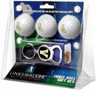 Appalachian State Mountaineers Golf Ball Gift Pack with Key Chain
