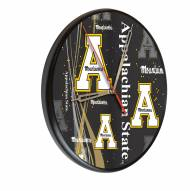 Appalachian State Mountaineers Digitally Printed Wood Clock