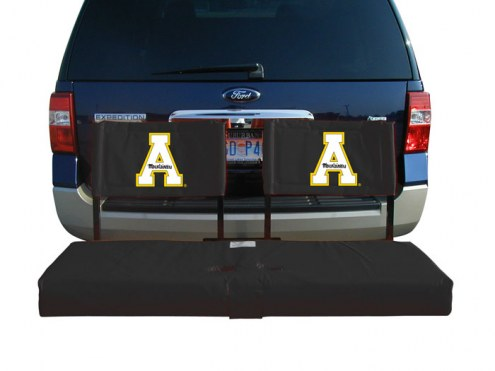 Appalachian State Mountaineers Tailgate Hitch Seat/Cargo Carrier