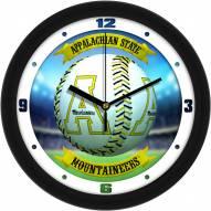 Appalachian State Mountaineers Home Run Wall Clock