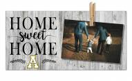 Appalachian State Mountaineers Home Sweet Home Clothespin Frame