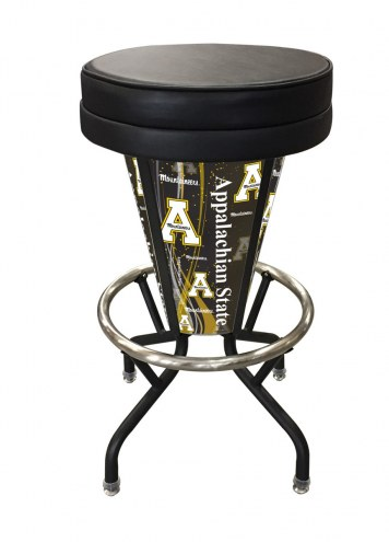 Appalachian State Mountaineers Indoor Lighted Bar Stool