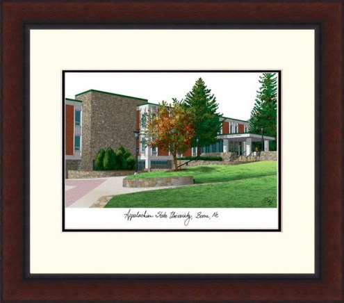 Appalachian State Mountaineers Legacy Alumnus Framed Lithograph