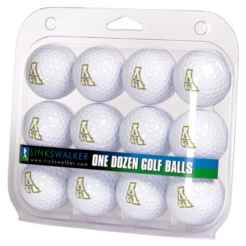Appalachian State Mountaineers Dozen Golf Balls