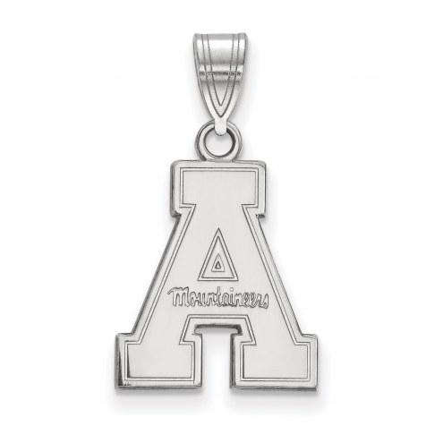 Appalachian State Mountaineers NCAA Sterling Silver Medium Pendant