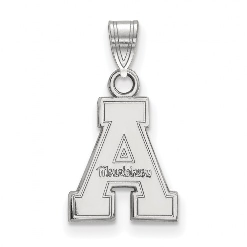 Appalachian State Mountaineers NCAA Sterling Silver Small Pendant