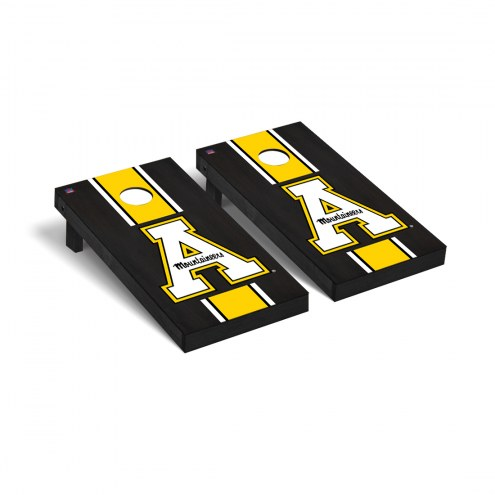 Appalachian State Mountaineers Onyx Stained Cornhole Game Set
