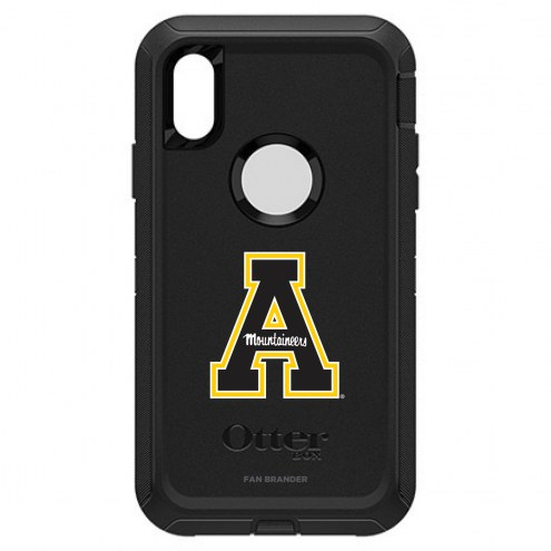 Appalachian State Mountaineers OtterBox iPhone XR Defender Black Case