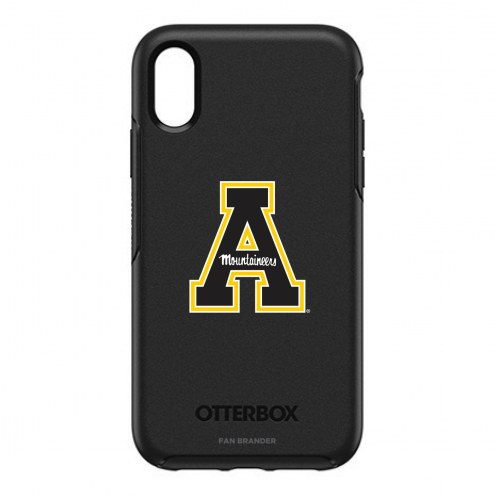 Appalachian State Mountaineers OtterBox iPhone XR Symmetry Black Case