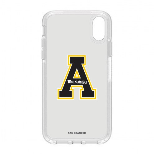 Appalachian State Mountaineers OtterBox iPhone XR Symmetry Clear Case
