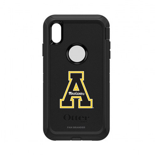 Appalachian State Mountaineers OtterBox iPhone XS Max Defender Black Case