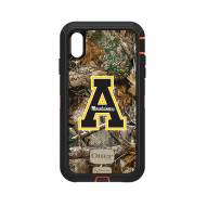 Appalachian State Mountaineers OtterBox iPhone XS Max Defender Realtree Camo Case