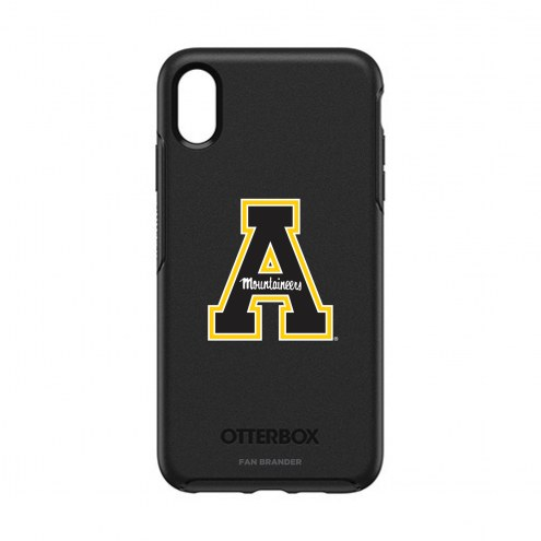 Appalachian State Mountaineers OtterBox iPhone XS Max Symmetry Black Case