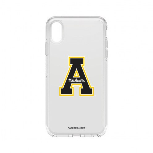 Appalachian State Mountaineers OtterBox iPhone XS Max Symmetry Clear Case