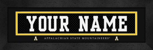 Appalachian State Mountaineers Personalized Stitched Jersey Print