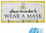 Appalachian State Mountaineers Please Wear Your Mask Sign