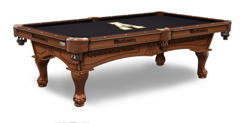 Appalachian State Mountaineers Pool Table