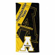 Appalachian State Mountaineers Puzzle Beach Towel