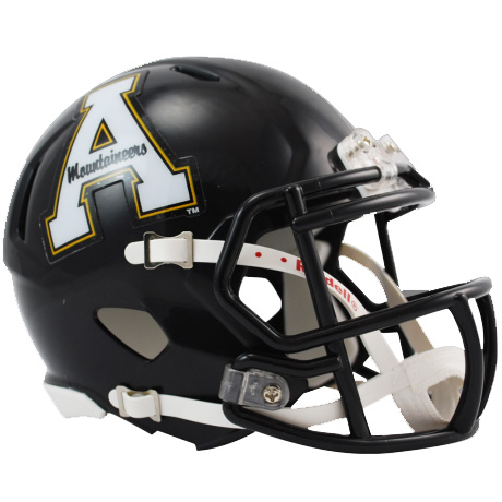 Appalachian State Mountaineers Riddell Speed Mini Collectible Football Helmet