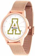 Appalachian State Mountaineers Rose Mesh Statement Watch