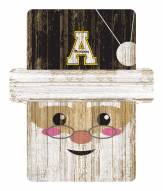 Appalachian State Mountaineers Santa Ornament