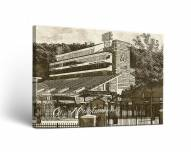 Appalachian State Mountaineers Sketch Canvas Wall Art