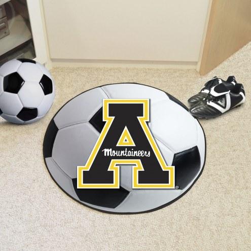 Appalachian State Mountaineers Soccer Ball Mat