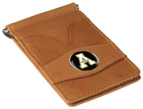 Appalachian State Mountaineers Tan Player's Wallet