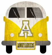 Appalachian State Mountaineers Team Bus Sign