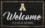 Appalachian State Mountaineers Team Color Welcome Sign