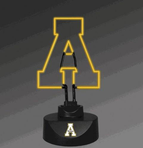 Appalachian State Mountaineers Team Logo Neon Lamp