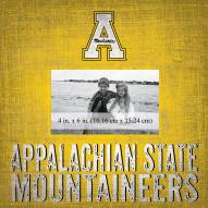 "Appalachian State Mountaineers Team Name 10"" x 10"" Picture Frame"