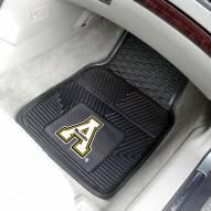 Appalachian State Mountaineers Vinyl 2-Piece Car Floor Mats