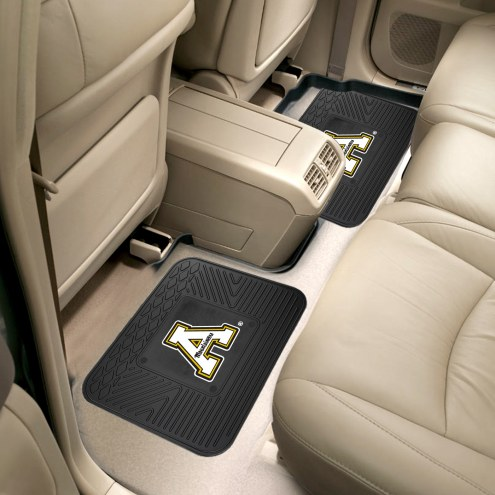 Appalachian State Mountaineers Vinyl 2-Piece Rear Floor Mats