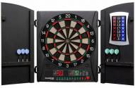 Arachnid Bullshooter Cricket Maxx 1.0 Bristle Dart Board Cabinet Set