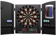 Arachnid Bullshooter Cricket Maxx 1.0 Bristle Dart Board Cabinet Set