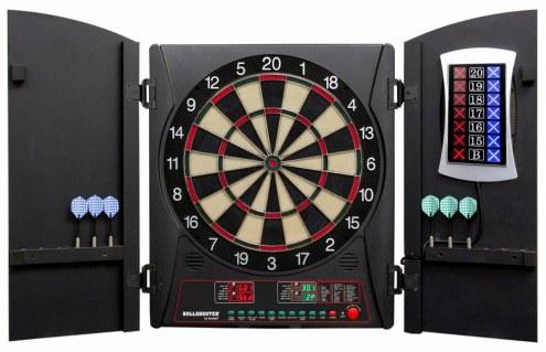 Arachnid Bullshooter Cricket Maxx 3.0 Bristle Dart Board Cabinet Set