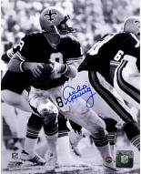 Archie Manning Drop Back B&W 8 x 10 Photo