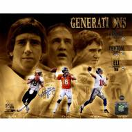 Archie Manning Signed Manning Generations 8x10 Photo