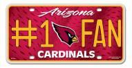 Arizona Cardinals #1 Fan License Plate