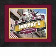 Arizona Cardinals 13 x 16 Personalized Framed Sports Pub Print